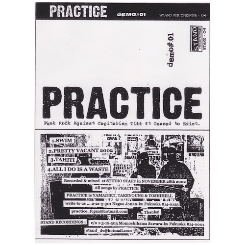 "PRACTICE<br>""Punk Rock AgainstCapitalism Till It Ceased To Exist""<br>"